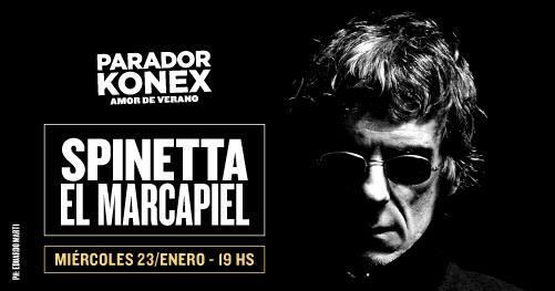 Spinetta, El Marcapiel en Parador Konex