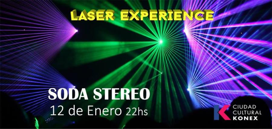 LASER EXPERIENCE - Soda Stereo