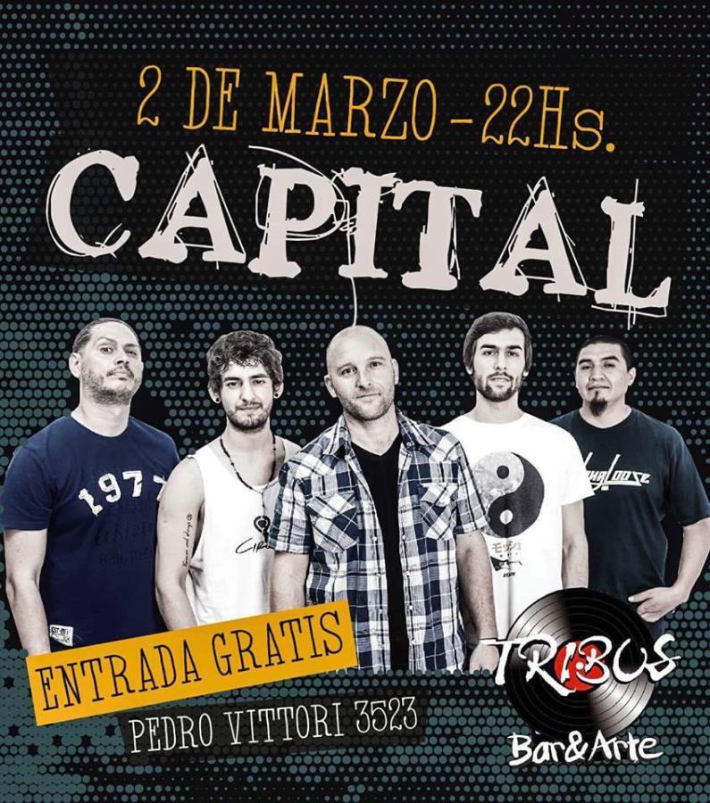 Capital en Tribus Bar