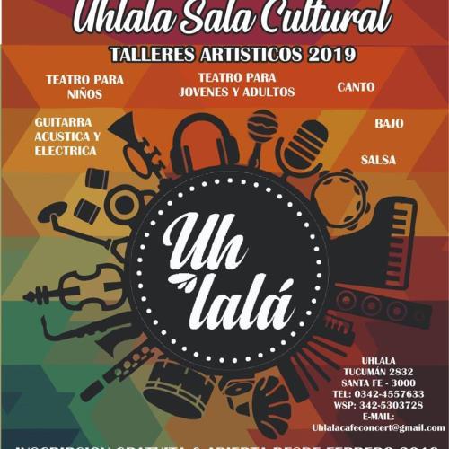 Talleres Artísticos Anuales 2019 Uhlala