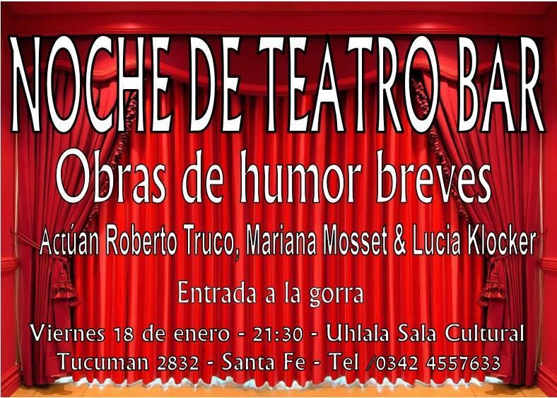 Noche de Teatro Bar
