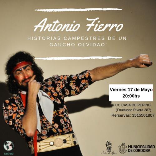 """Obra de Teatro """" Antonio Fierro"""""""