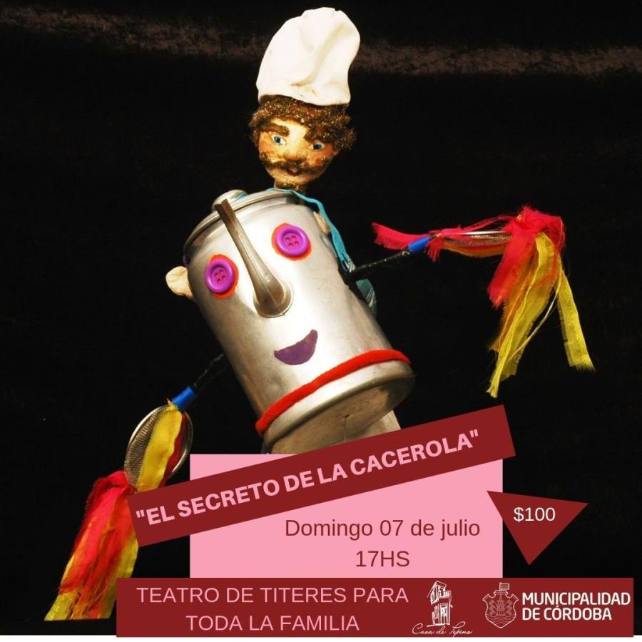 """Títeres """"El secreto de la cacerola"""""""