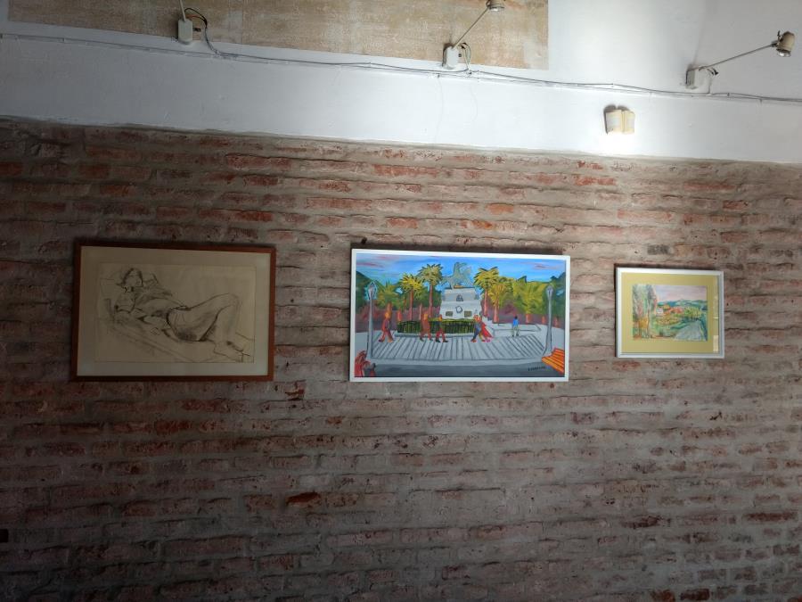 Intervención artística Sala del Almacén
