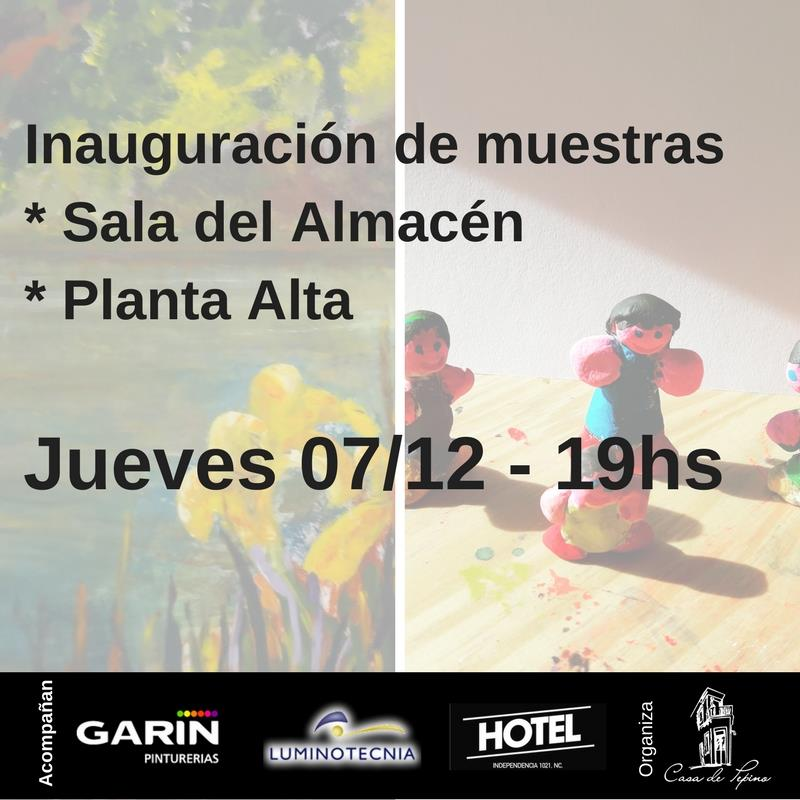 Inauguración de Muestras Sala Principal y Planta Alta
