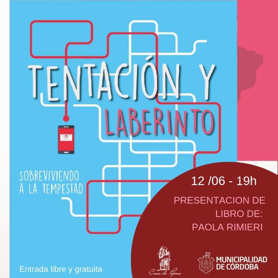 """Presentación de los libros """"Cartas alquiladas"""" y """"Tentación y Laberinto"""""""