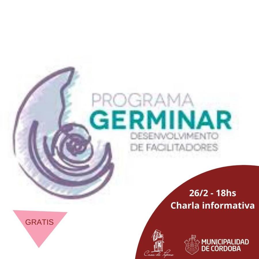 Charla informativa Programa Germinar