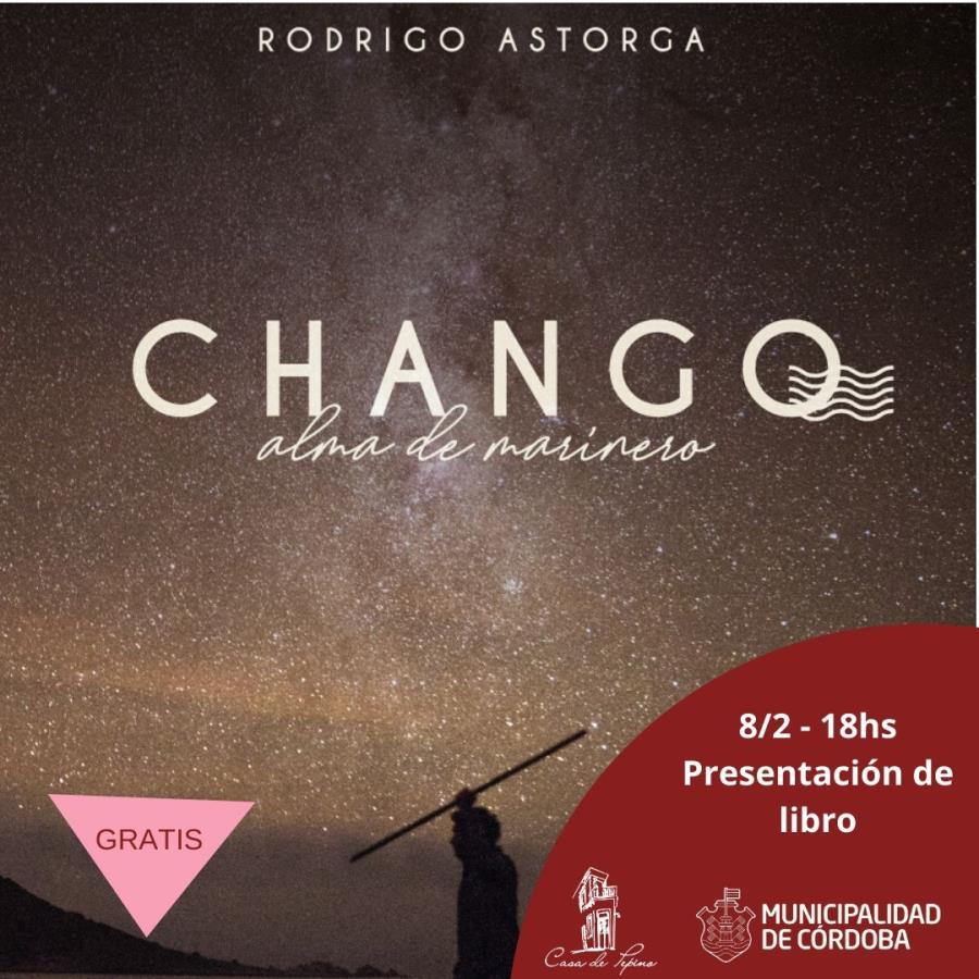 """Presentación del libro """"Chango"""""""