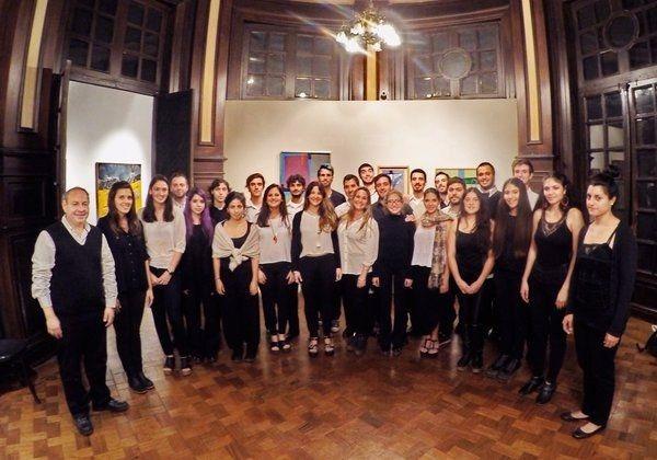 Presentación del Coro municipal de jóvenes