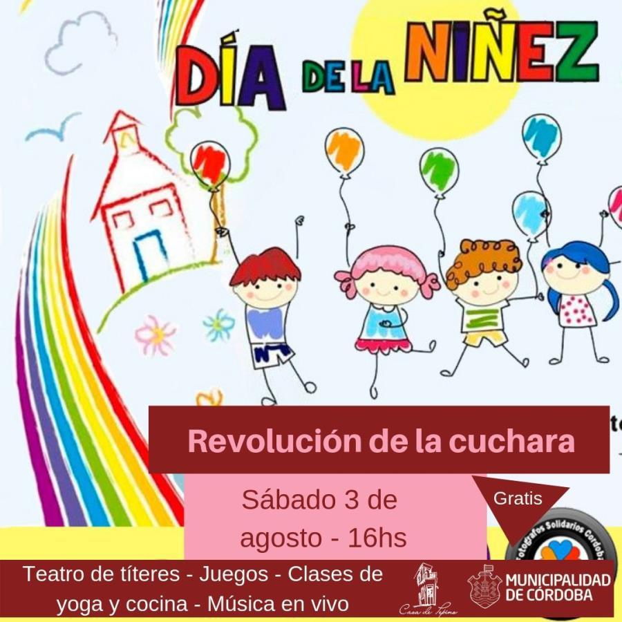 """Revolución de la cuchara """"Día de la niñez"""""""