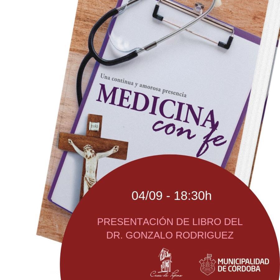 """Presentación del libro """"Medicina con fe"""""""