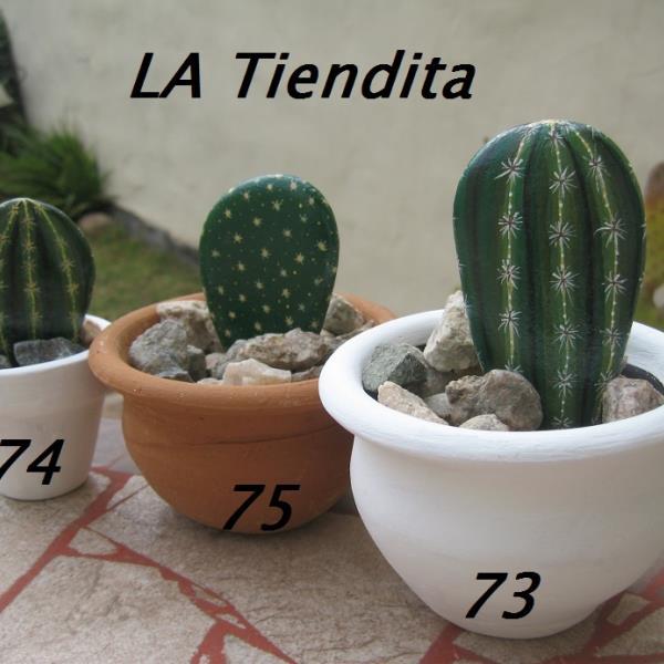 Piedras pintadas  Nº 73, 74 y 75