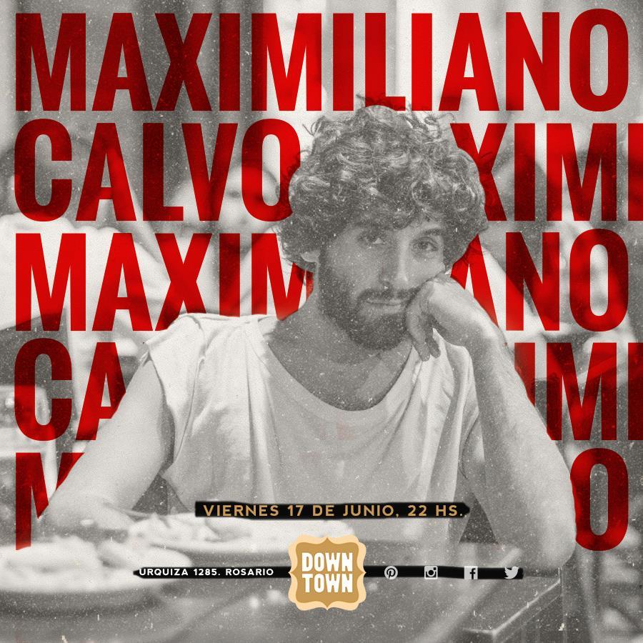 Maximiliano Calvo en Rosario presentando Mambo y Tecnología