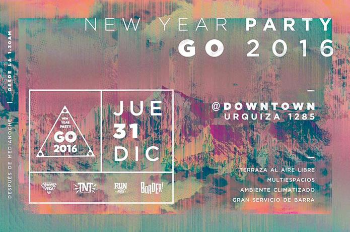 Go 2016 New Year Party