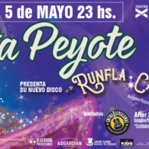 """Mamita Peyote presenta su nuevo disco """"Runfla Calavera"""""""