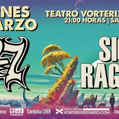 PEZ - SIG RAGGA en Rosario!