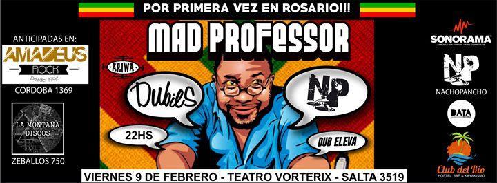 Mad Professor por primera vez en Rosario!