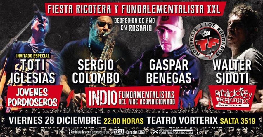 Fiesta Ricotera & Fundamentalista XXl Rosario
