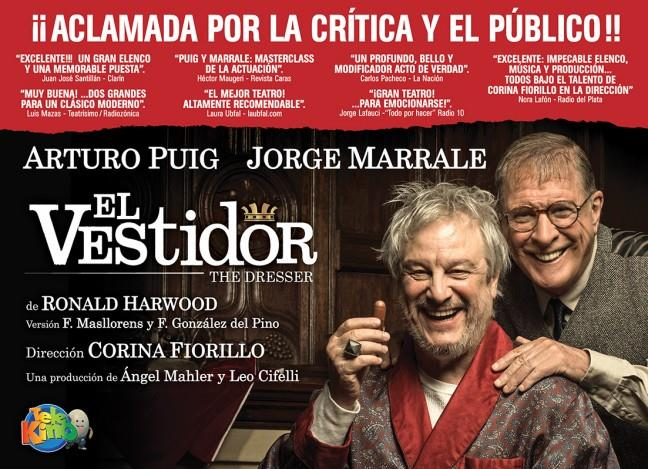 """Teatro: """"El vestidor"""""""
