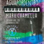 Aguapordentro + Maru Chamella