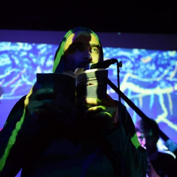 Poesía Ambiente: literatura + música + audiovisuales