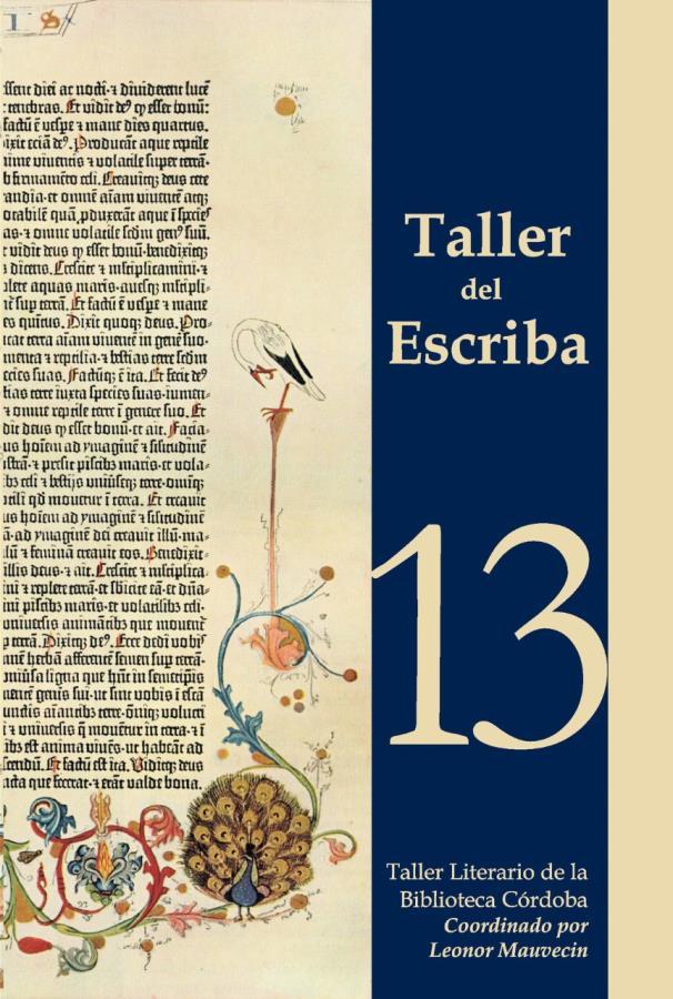 Presentación de libro - El taller del escriba nº13