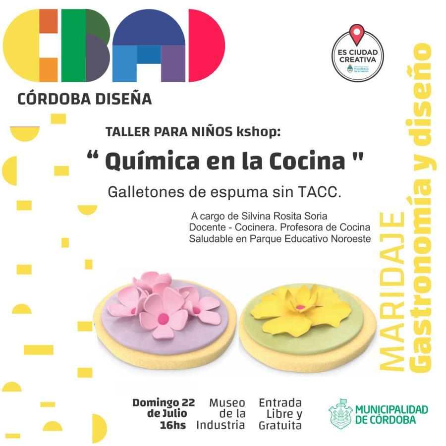 """Taller para niños: """"Química en la cocina"""" -Córdoba Diseña-"""