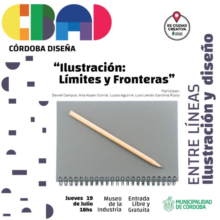 Mesa redonda: La ilustración, limites y fronteras - Córdoba Diseña