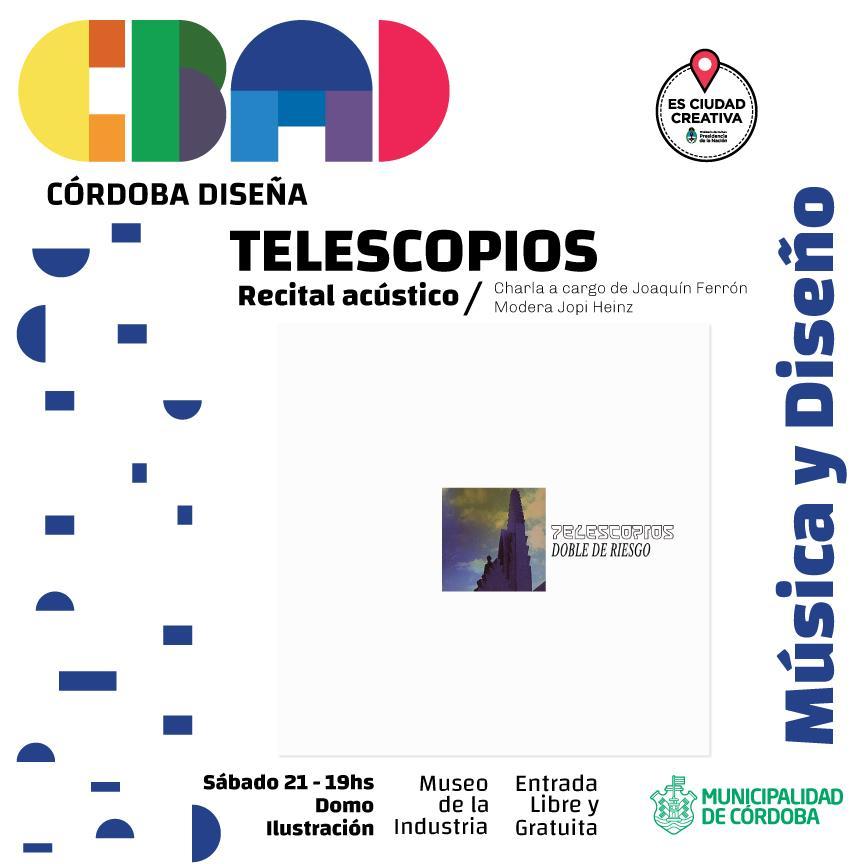 TELESCOPIOS en Córdoba Diseña