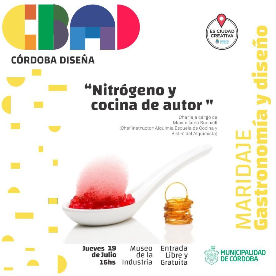 """Charla:  """"Nitrógeno y cocina de autor """""""