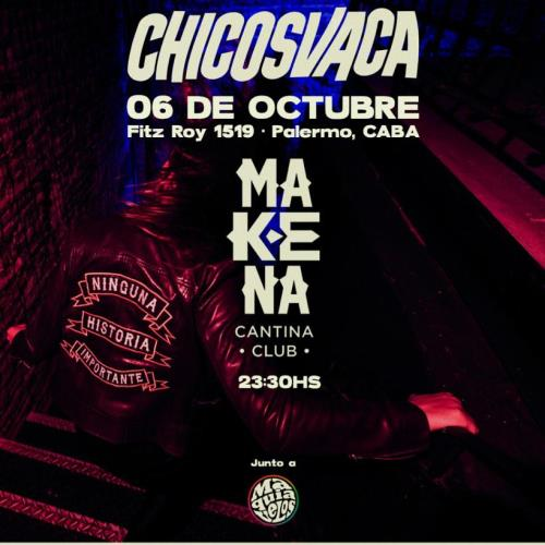 Chicosvaca presenta disco en Makena