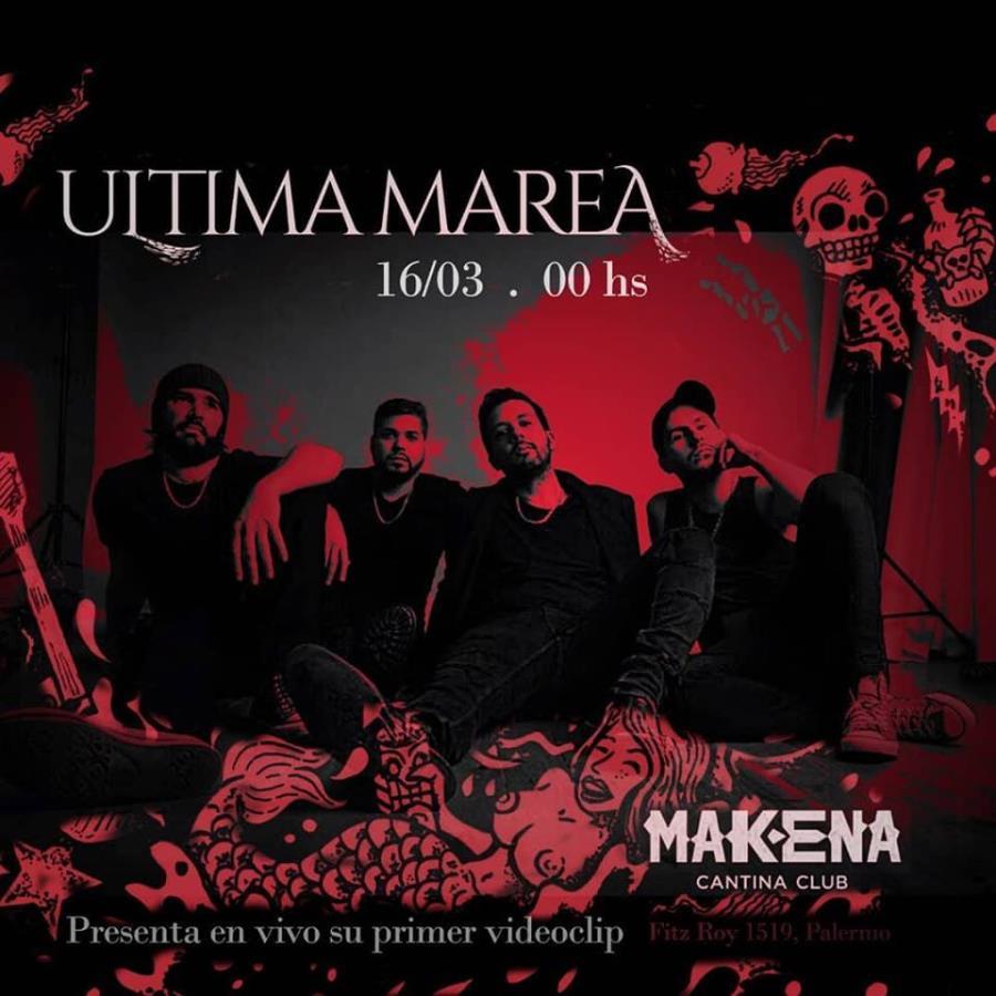 Ultima Marea presenta vídeoclip en Makena