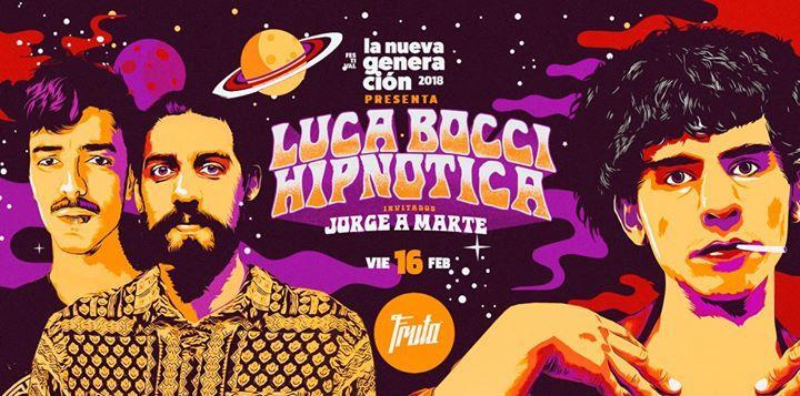 Luca Bocci & The Golden Papets + Hipnotica en Córdoba