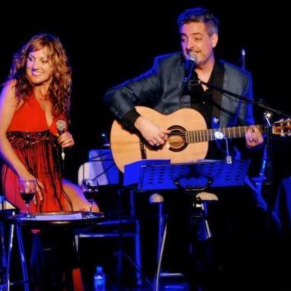 Silvia Lallana y Marcelo Santos