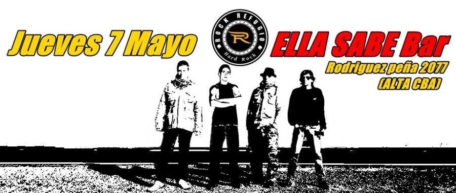 7 de Mayo - Electro-Acustico   ELLA SABE Bar- Rod. Peña 2077  (Alta Cordoba)