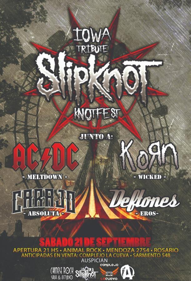 KnotFest primera edición en Rosario