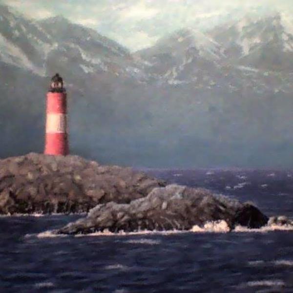 """""""Faro del fin del mundo"""" (pintura)"""
