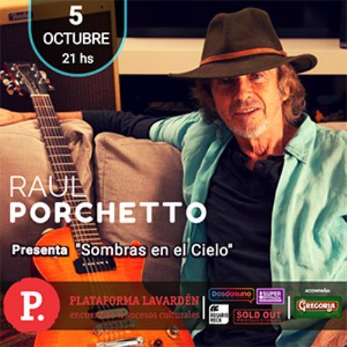 Raul Porchetto presenta disco en Rosario