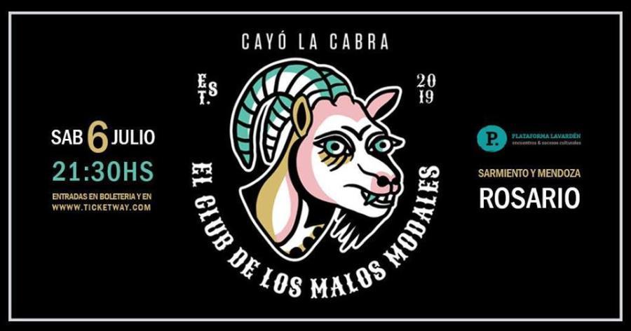 Cayó la Cabra en Rosario (Arg) - Plataforma Lavarden