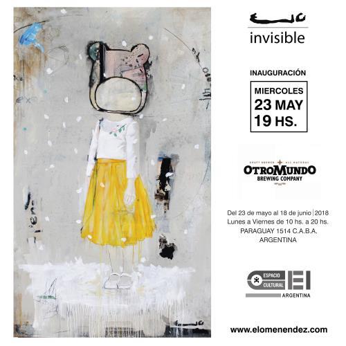 Invisible de Elo Menéndez en Espacio Cultural OEI.