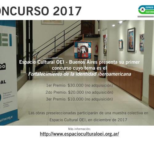 Primer CONCURSO del Espacio Cultural OEI – 2017