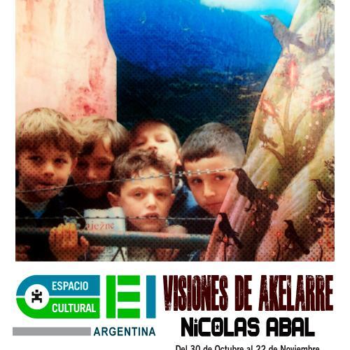 Visiones del Akelarre. Muestra de Nicolás Abal en Espacio Cultural OEI.