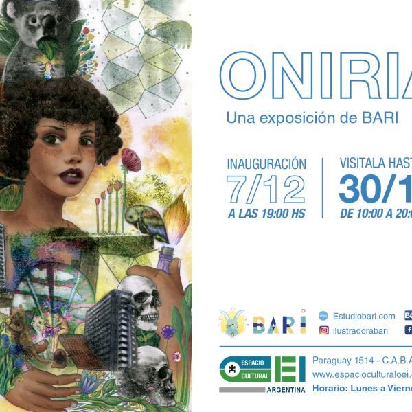 ONIRIA -una exposición de Bari- en Espacio Cultural OEI.