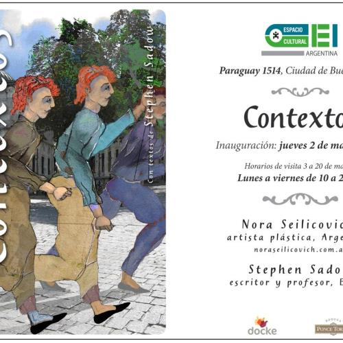 Contextos de Nora Seilicovich en Espacio Cultural OEI.