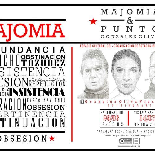 Inauguración: Majomía & Punto. Luis González Oliva en Espacio Cultural OEI.