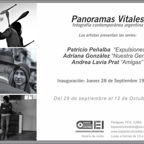 Panoramas Vitales: fotografía contemporánea argentina en Espacio Cultural OEI.