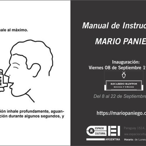 Manual de Instrucciones de Mario Paniego en Espacio Cultural OEI.