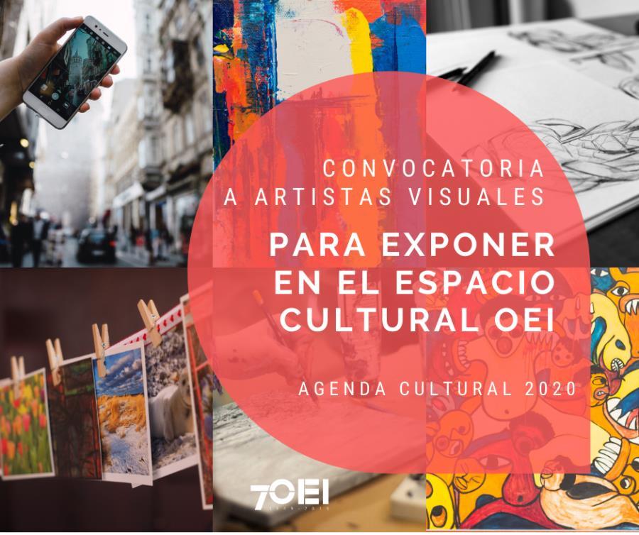 Convocatoria 2020 para exponer en el Espacio Cultural OEI