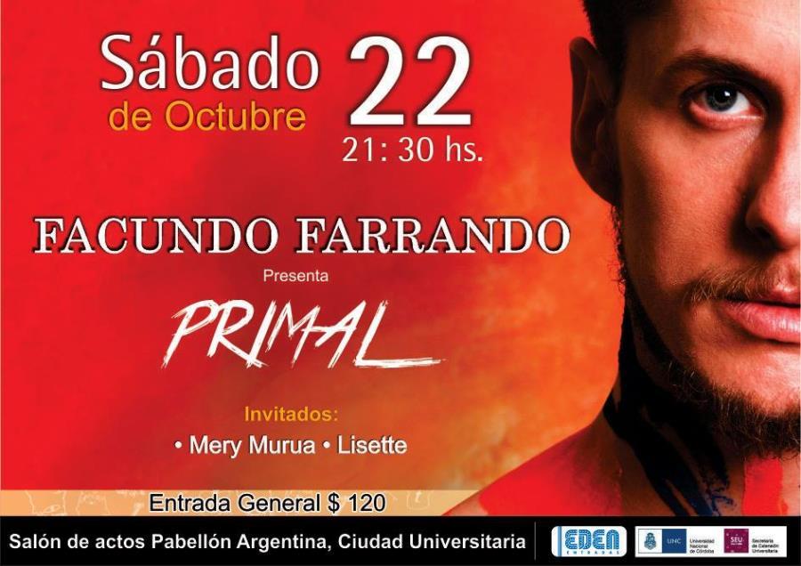 FACUNDO FARRANDO presenta PRIMAL