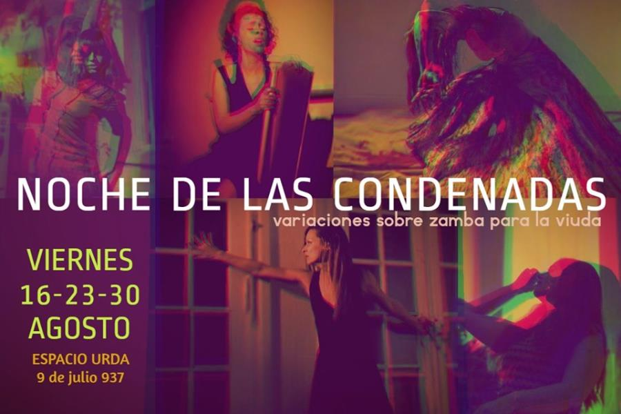 Noche de las condenadas/Danza